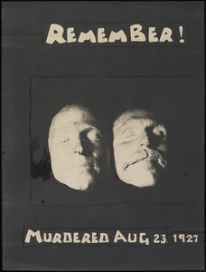 Remember! Murdered Aug 23. 1927