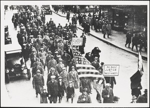 Demonstration, Boston, Mass., 1 March 1925