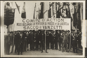 Brussels (Belgium) Sacco-Vanzetti demonstration, 30 May 1927