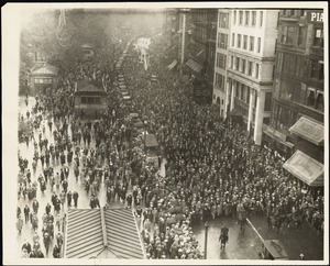 Funeral procession, Boston, Mass., 28 August 1927