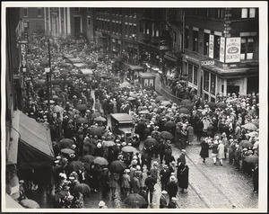 Funeral procession [Boston, Mass., 28 August 1927]