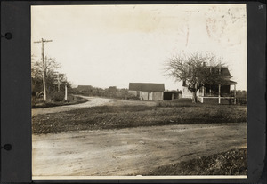 View of South Elm Street and Lincoln Street. Cochessett.