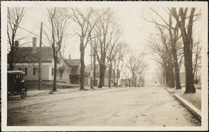 Broad St., Hale Street on left in between the trees from the southeast.