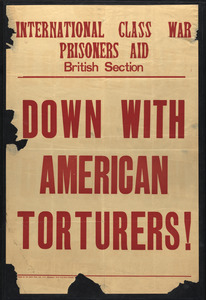 Down with American torturers! International class war prisoners aid, British section