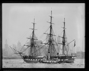 USS Constitution - N.Y. Harbor