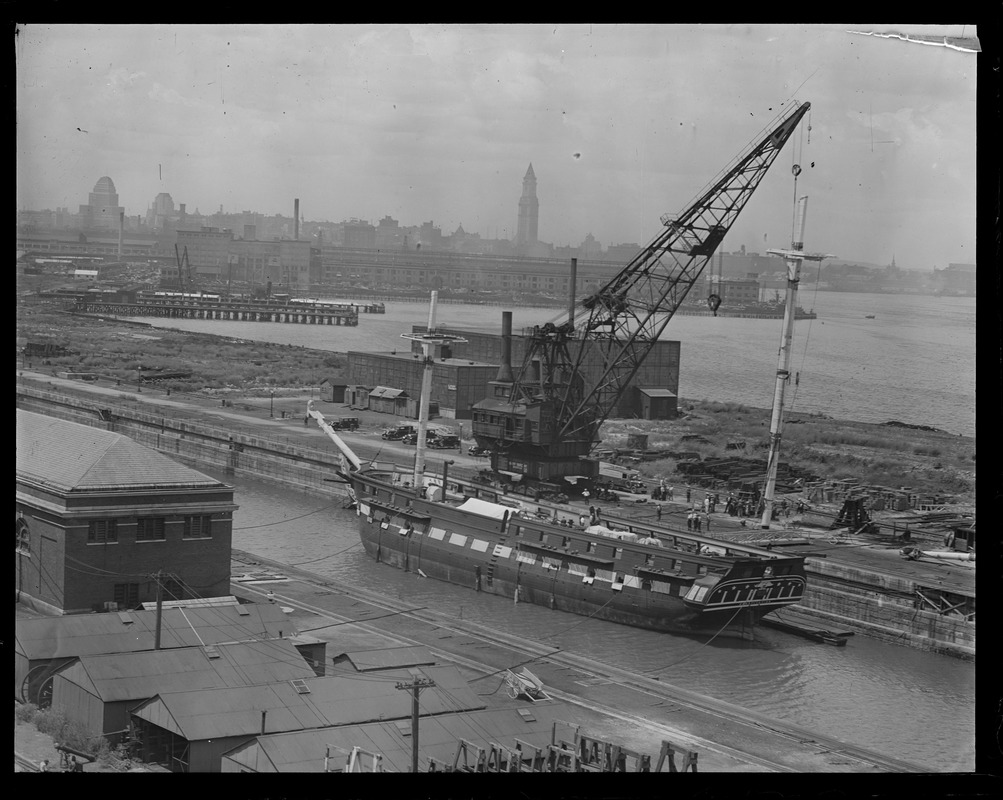 USS Constitution - South Boston drydock