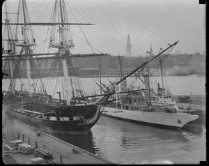 USS Constitution? Yes, and a Navy yacht