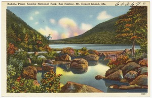 Bubble Pond, Acadia National Park, Bar Harbor, Mt. Desert Island, Maine