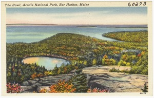 The Bowl, Acadia National Park, Bar Harbor, Maine