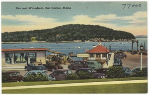 Pier and Waterfront, Bar Harbor, Maine
