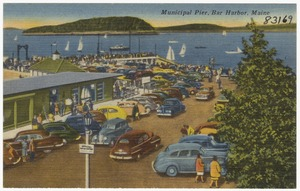 Municipal Pier, Bar Harbor, Maine