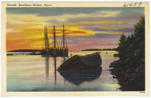 Sunset, Boothbay Harbor, Maine