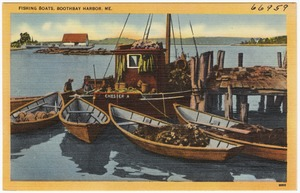 Fishing boats, Boothbay Harbor, Me.