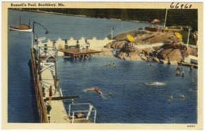 Buzzell's Pool, Boothbay, Me.