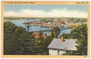 Foot Bridge, Boothbay Harbor, Maine