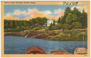 Spruce Point, Boothbay Harbor, Maine