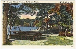 Woods Lake Picnic Grounds, Bridgton, Maine