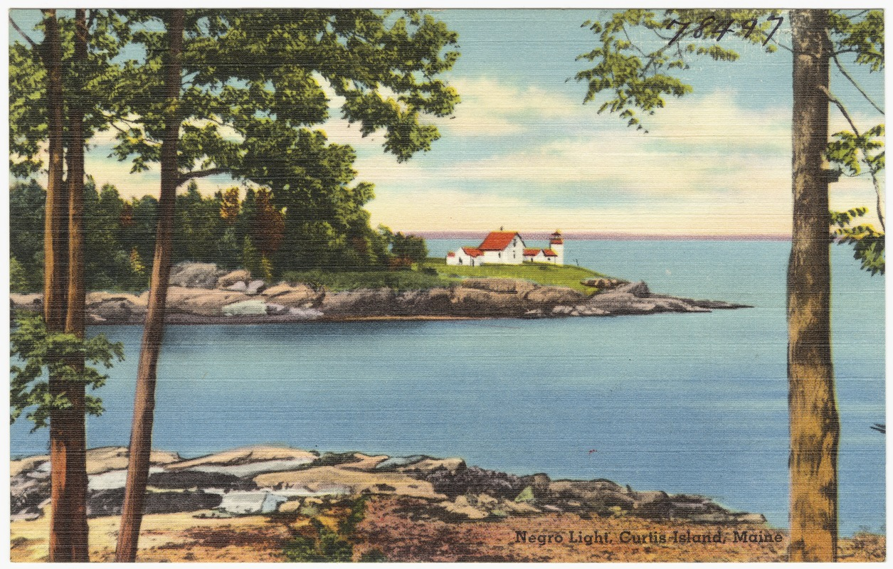 Negro Light, Curtis Island, Maine