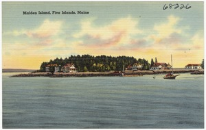 Malden Island, Five Islands, Maine
