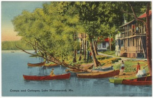 Camps and cottages, Lake Maranacook, Me.