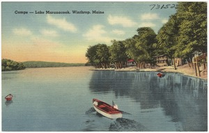 Camps -- Lake Maranacook, Winthrop, Maine