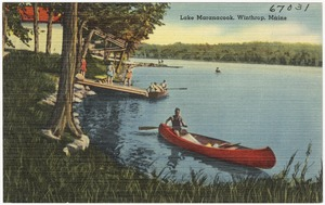 Lake Maranacook, Winthrop, Maine