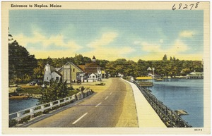 Entrance to Naples, Maine