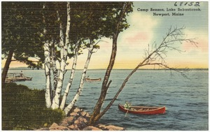 Camp Benson, Lake Sebasticook, Newport, Maine