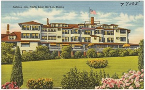 Asticou Inn, North East Harbor, Maine