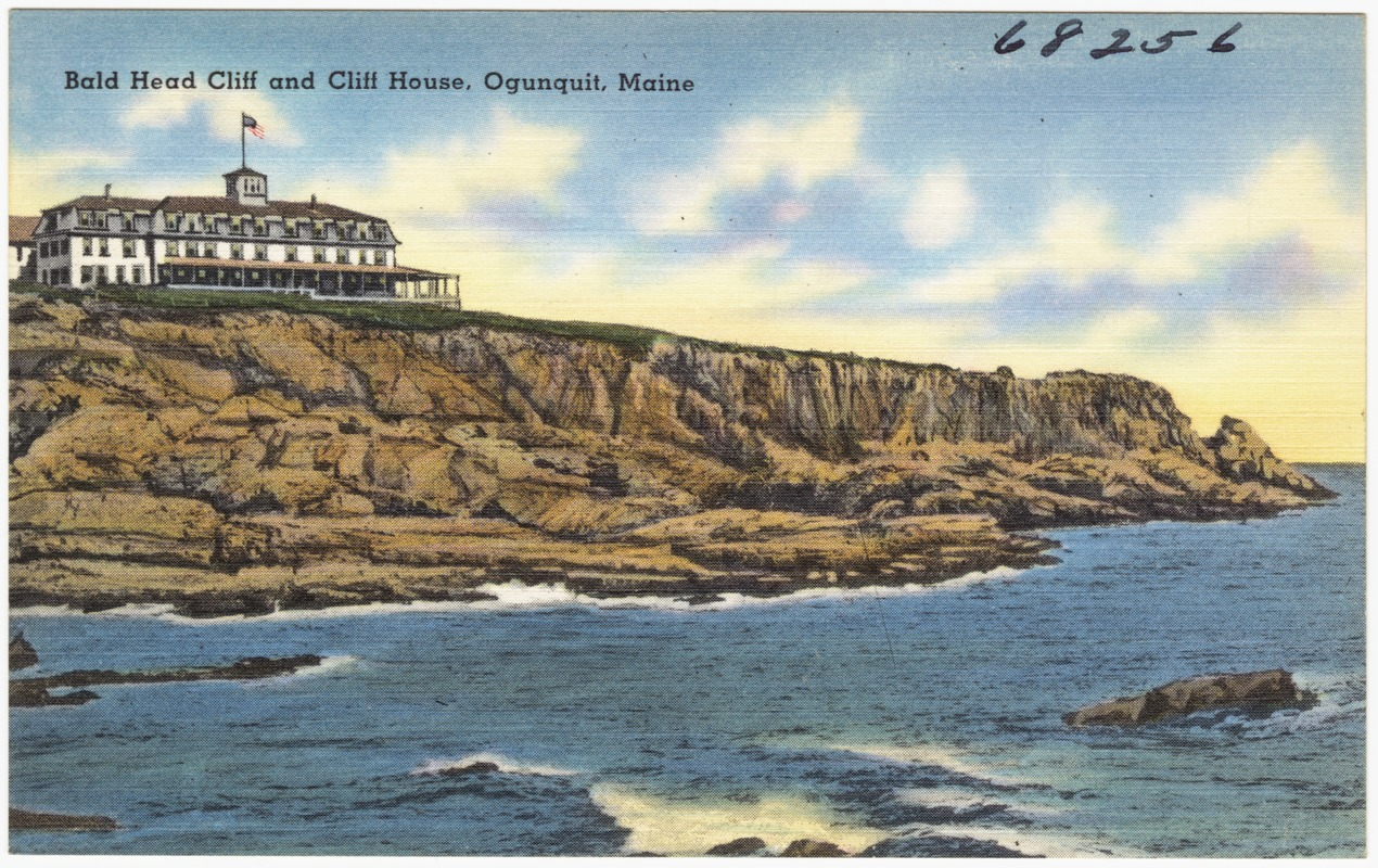 Bald Head Cliff and Cliff House, Ogunquit, Maine