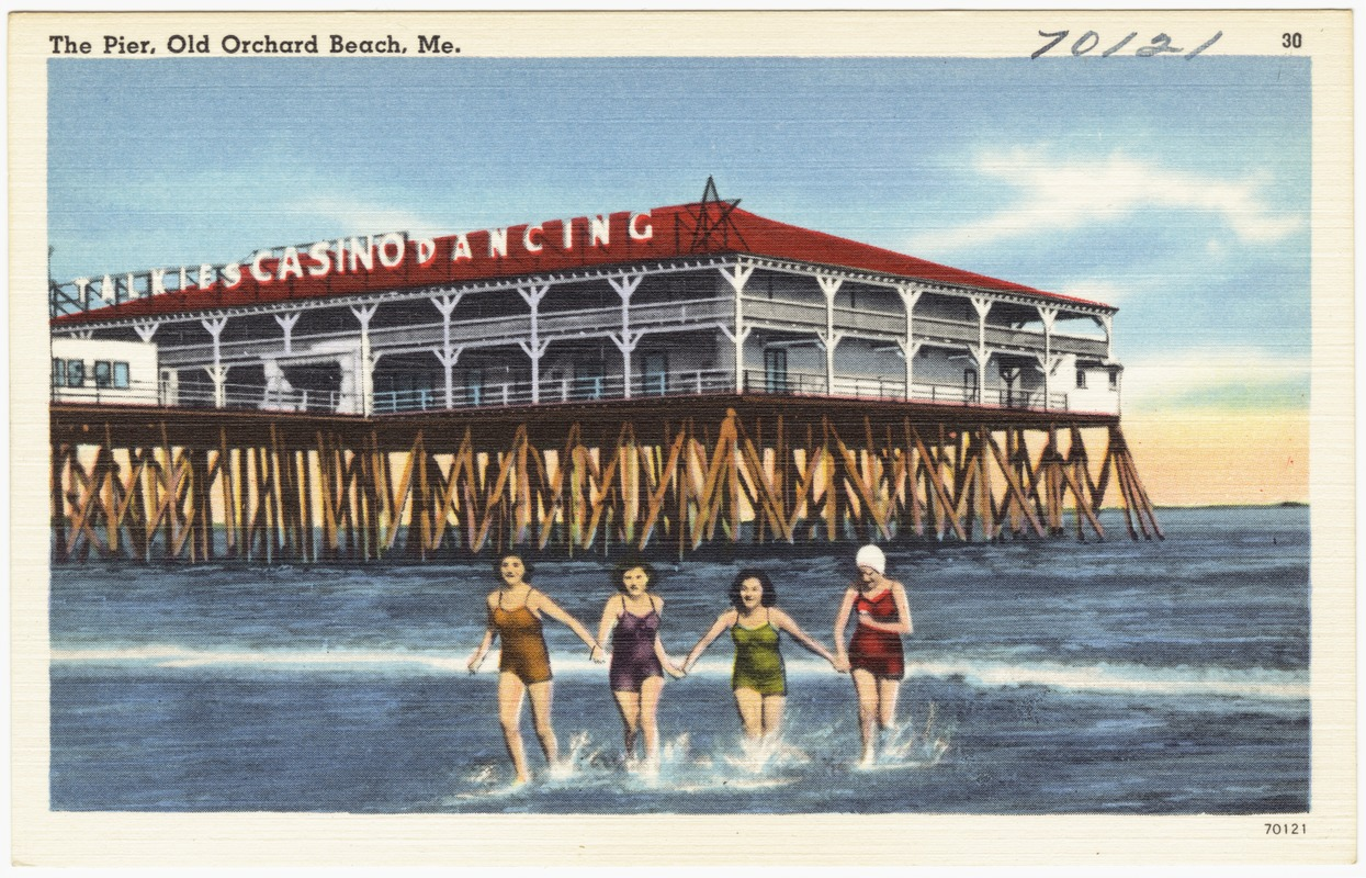 The Pier Old Orchard Beach Me