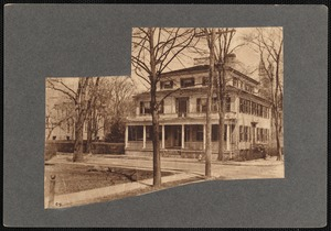 Elsie Clark Moore house, Fairhaven, MA. Later the site of Fairhaven Post Office building