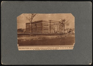 Betsey B. Winslow School, New Bedford, MA.
