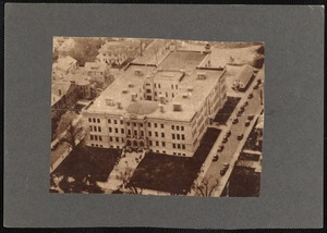 Aerial view of New Bedford High School