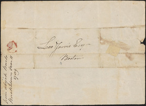Abijah Buck and Benjamin Spaulding to Leonard Jarvis, 11 March 1789