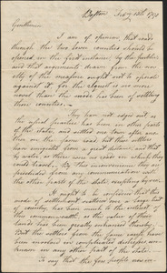 B. Lincoln to Colonel Torry and Colonel Johannes, 15 February 1790