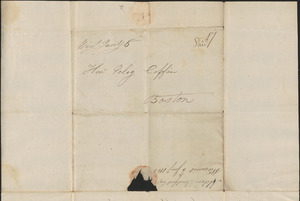 Alden Bradford to Peleg Coffin, 6 January 1805