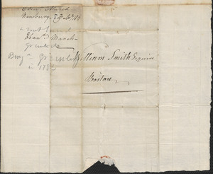 Ebenezer March to the Committee for the Sale of Eastern Lands, 8 February 1811