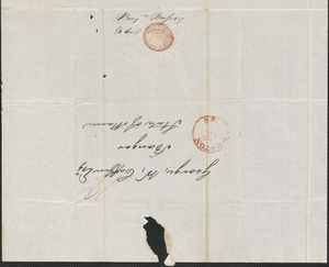 Benjamin Bussey to George Coffin, 21 August 1823