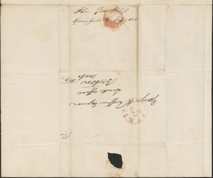 George Bliss to George Coffin, 2 July 1825