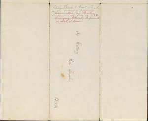 Albion Parris to Levi Lincoln, 17 February 1826