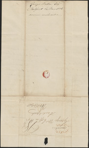 George Watson to George Coffin, 24 March 1826
