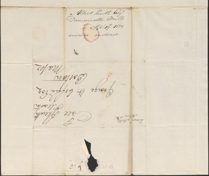 Albert Smith to George Coffin, 19 April 1828