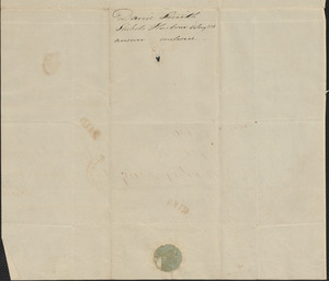 David Smith to George Coffin, 14 August 1828