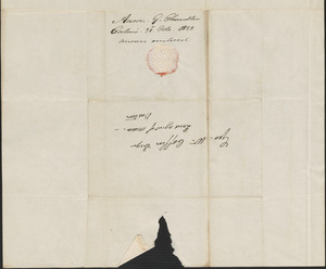 A.G. Chandler to George Coffin, 31 October 1828
