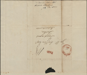 David Smith to George Coffin, 13 December 1828