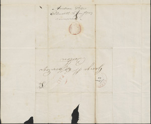 Andrew Peters to George Coffin, 20 January 182