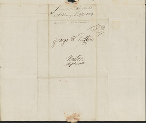 Joseph Russell to George Coffin, 6 April 1829
