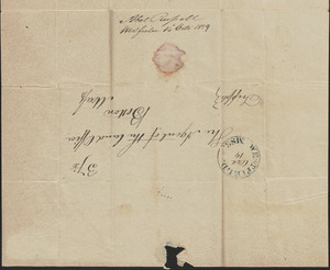 Noel Russell to George Coffin, 14 October 1829