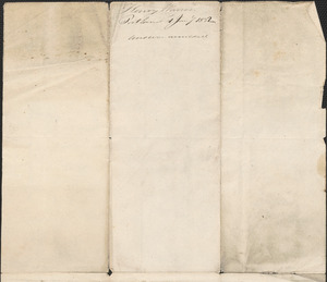 Henry Warren to George Coffin, 1 January 1832